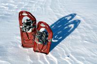 Hi-tech snowshoes