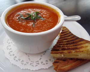 Tomato Basil Soup<br><em>Photo by Kellee Kunovic</em>